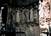 Девы Неразумные с фасада в Страсбурге, Cтарый собор St. Nikolas