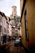 замок Фуа из старого города