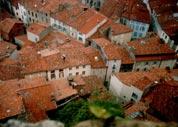 старый город со стен замка Фуа