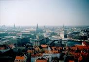Kobenhavn city с башни Frelsers Kirke