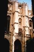 собор в Narbonne, внутренний дворик