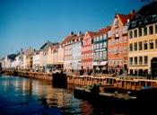 Новая гавань, с Nyhavn bro в сторону города
