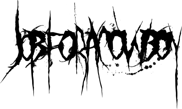 Thats The Closest To Legible You Will Get Job For A Cowboy Its Deathcore Somewhere Inbetween Death Metal And Metalcore Scene Funny That Logo Is