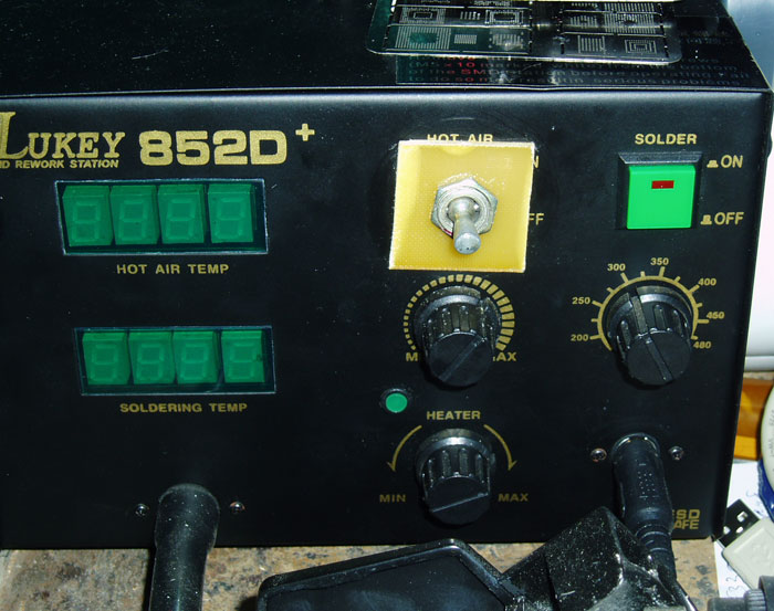 Нужна схема на Lukey 852D+.