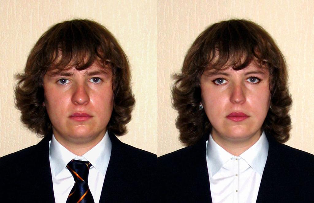 Фото после смены пола