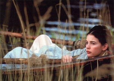 Кадр из фильма Онегин.