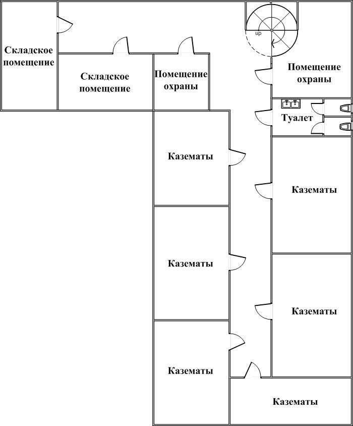 Схема 7 - План подвальных