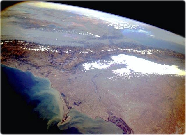 Грузия из космоса