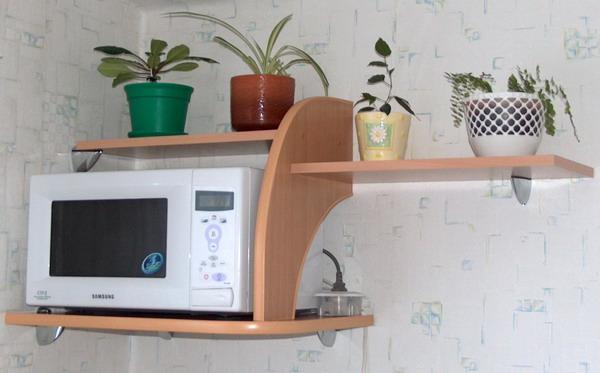 Маленькие полки для кухни своими руками