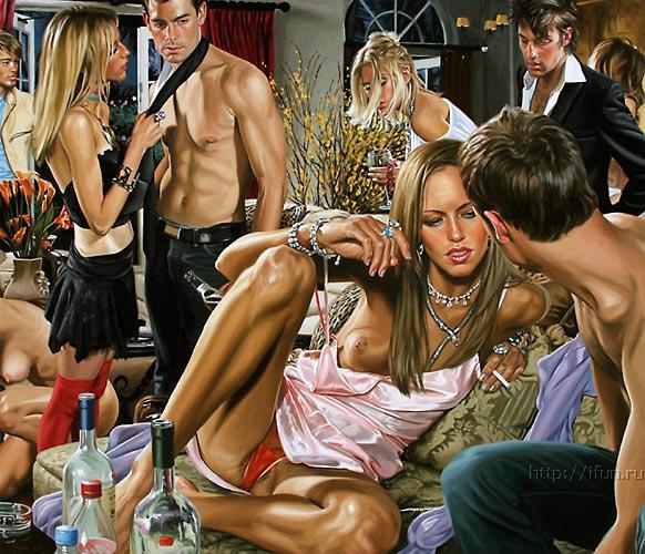 вечеринки свинг фото
