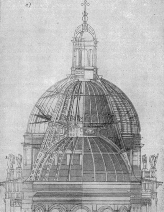 Купол Исаакиевского собора в