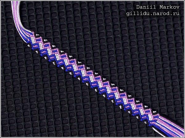 МоиФенечки - схемы фенечек и методики плетения фенечек (и фенечки схемы) - Как плести фенечки, схемы фенечек.
