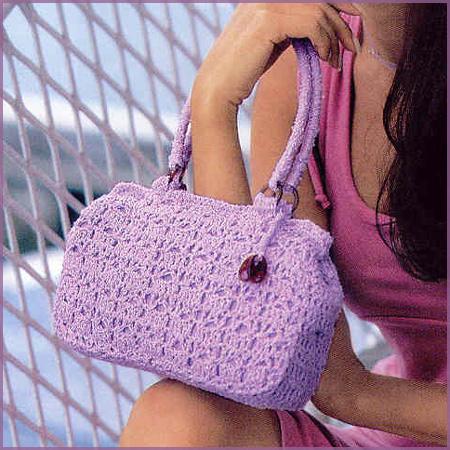 Схема вязания сумки.