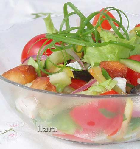 Украшение салатов , Салат Царский,украшение блюд Салаты в архивах...