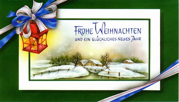 Открытки на новый год на немецком
