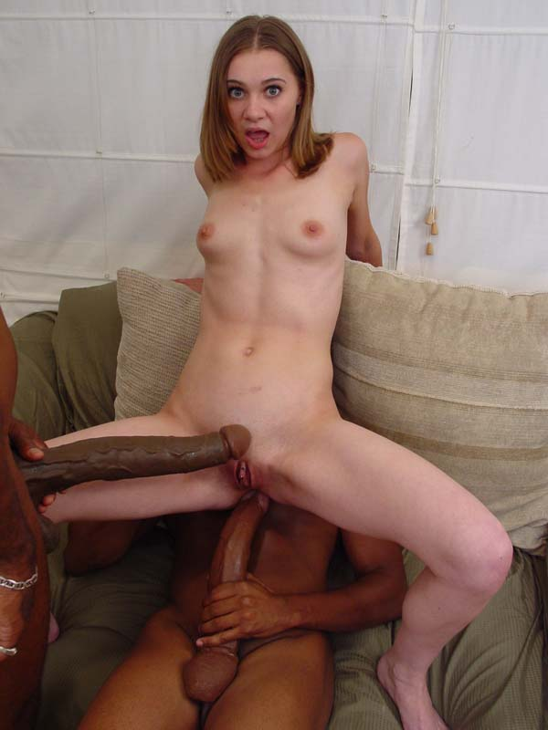 Big Dick Skinny Chick