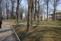 Парк в районе Врачар