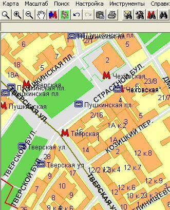 Карта метро москвы с районами