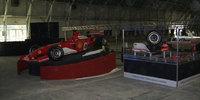 На стенде Ferrari самого Шумахера :)