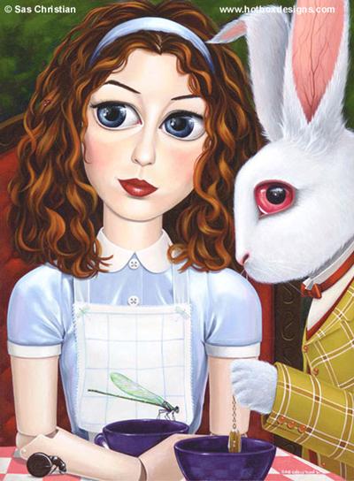 Цитаты из мультфильма Алиса в стране чудес и Алиса в Зазеркалье