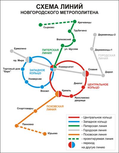 Схема метро на карте музей