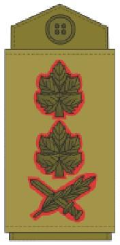 Знаки различия рав алуфа генерал