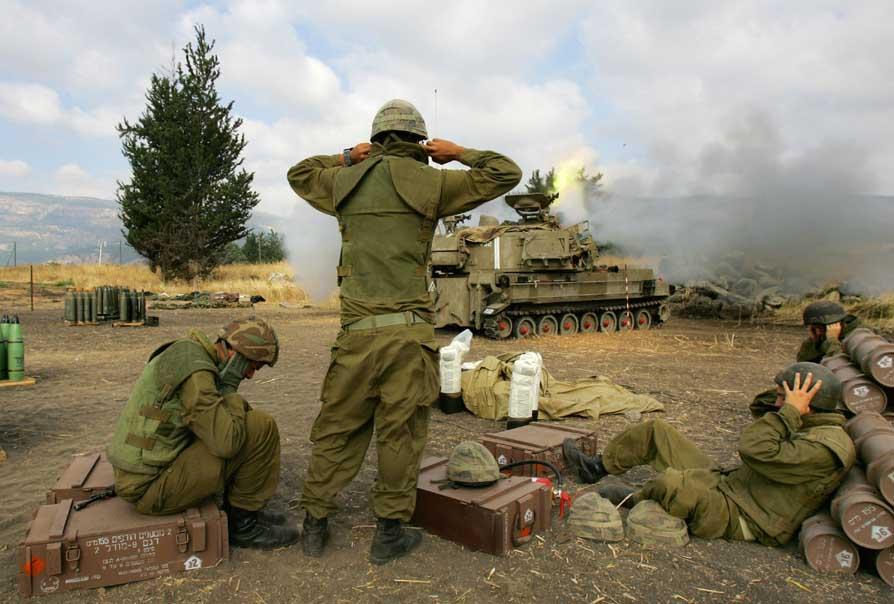 фото война в ливане