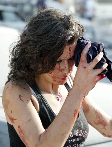 Модный показ белья в Ливане (77 фото).  Война во Вьетнаме (39 фото).