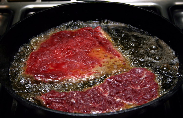 Эскалоп из говядины рецепт с фото