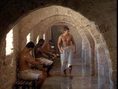 вот такие у них были бани