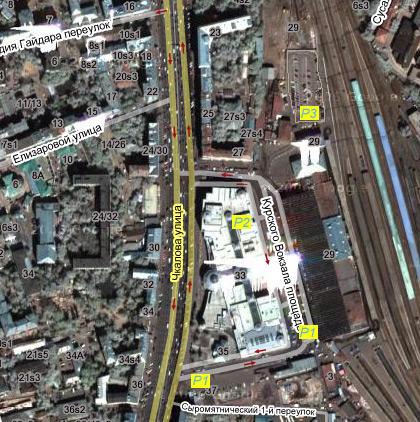 площади Курского вокзала