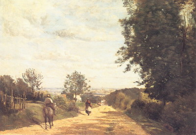 Corot chemin de sèvres
