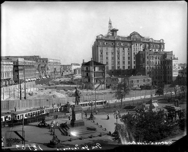 Фотографии старой Москвы.  Как было, как стало.