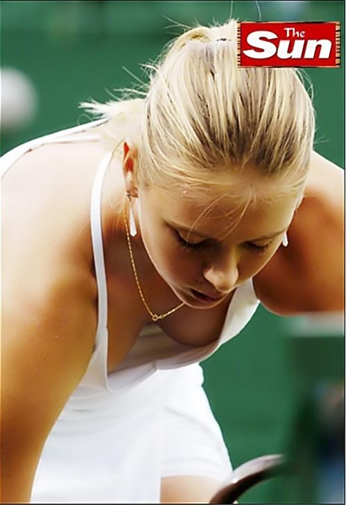 <b>Sharapova</b> Streaker Just a