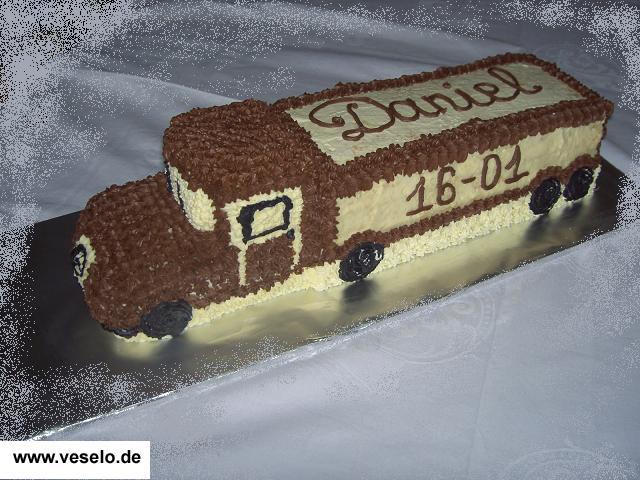 Детский торт машинка рецепт торта для