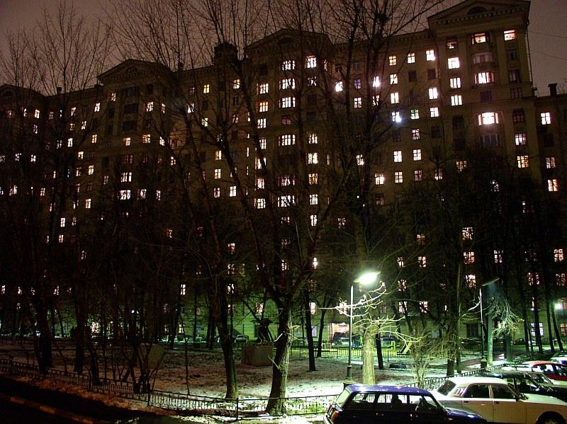 Фото ночные окна