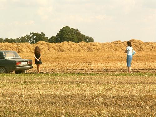 дзевчонки в поле