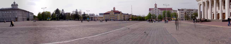 панорамный вид центральной площади