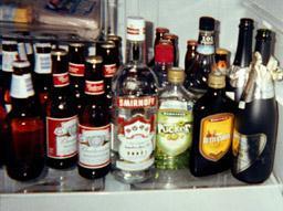 ...гости веселятся, мешают алкогольные напитки в произвольные коктейли...