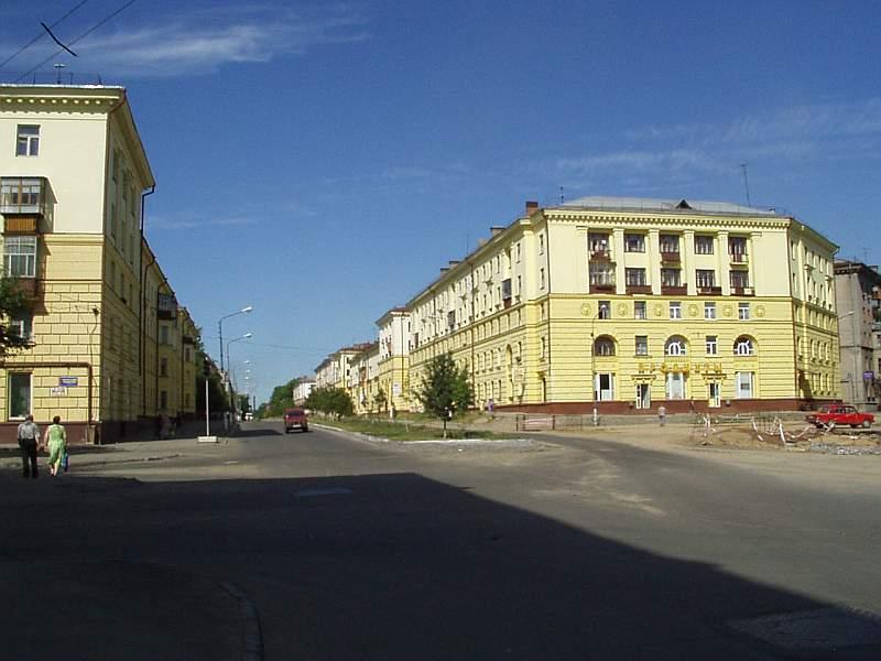 Панорама улицы Металлургов