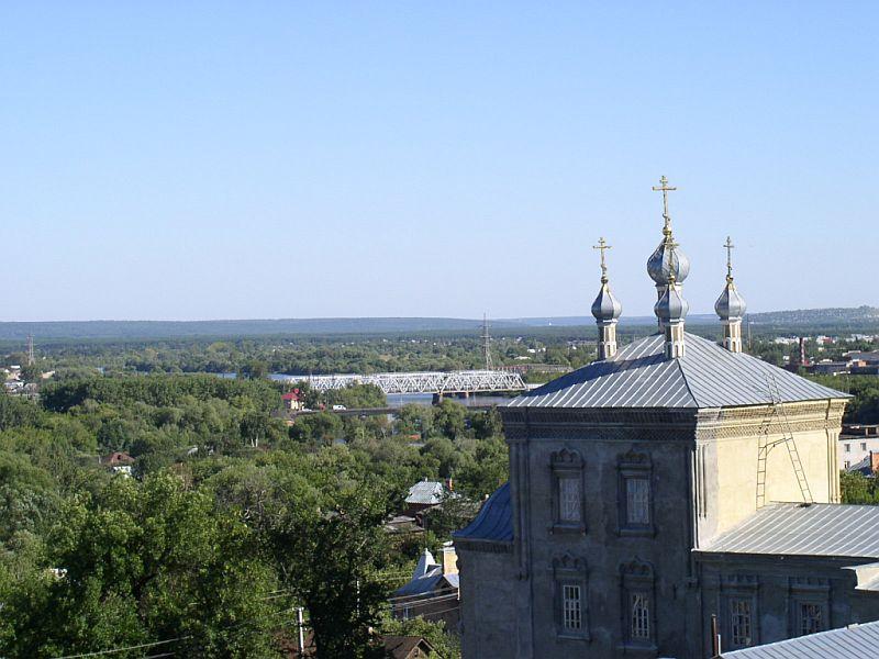 Вид на восточную часть города