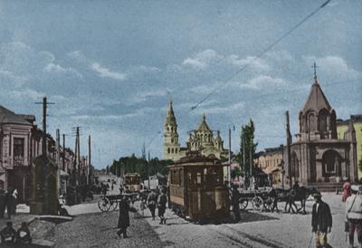Житомир. Площадь Александра II