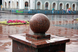 Житомир. Памятник Колобку