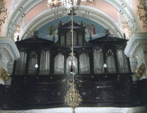 Орган в костеле св.Софии. Житомир