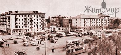 Площадь Победы в Житомире