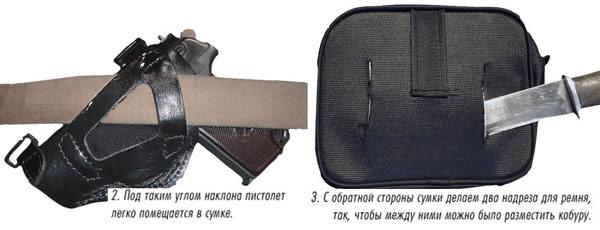 Поясная сумка своими руками
