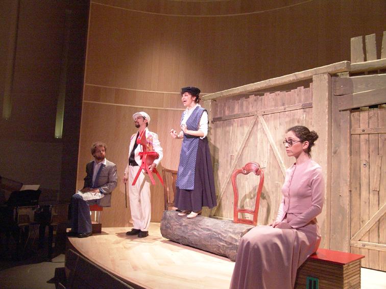 תיאטרון מיקרו - הצגה חכמי חלם