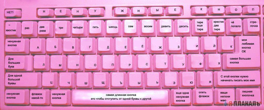 """В России продается компьютер """"для блондинок"""" __klaviatura-dlya-blondinok"""