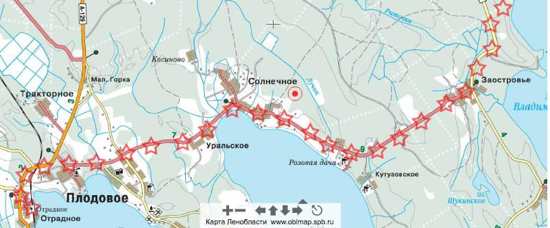 Электрички до станции Отрадное Приозерского направления Отправление электричек с Финляндского вокзала.
