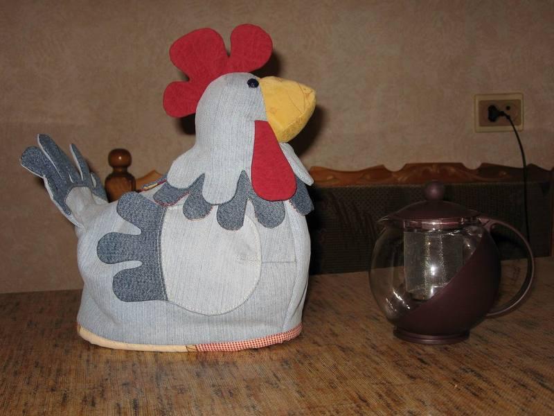 грелка курица на чайник своими руками выкройки